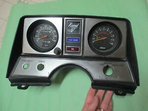 Vintage 79 Yamaha Excel V 540 Snowmobile Dash & Gauges 78 80 535  ?