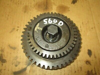 International Farmall 560 Diesel Engine Idler Gear Assembly Antique Tractor