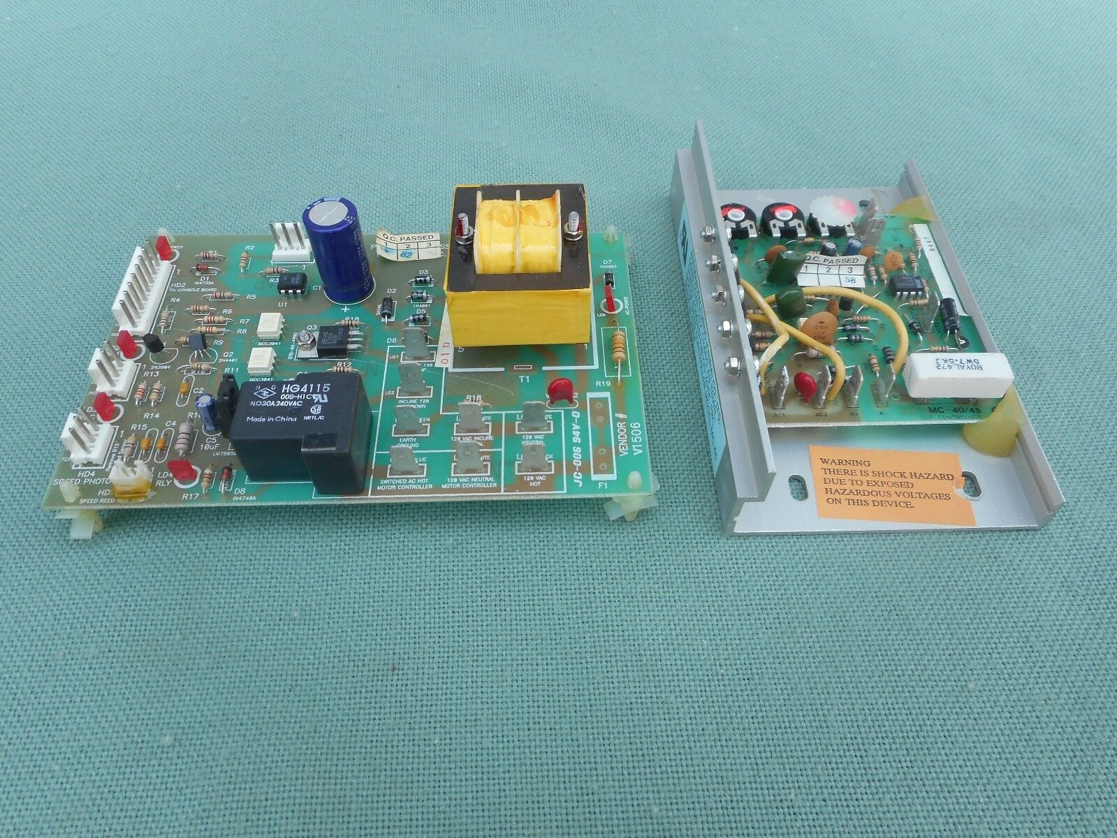 used weslo model wltl20550 mc 45 motor speed control amp item information