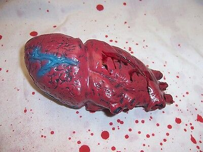 Bloody Realistic Human Heart Body Parts Halloween Organ Prop Decoration Gory New