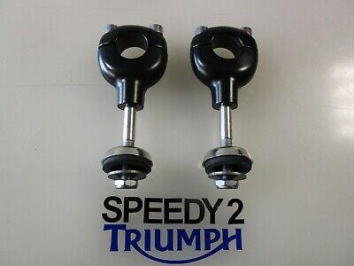 TRIUMPH THRUXTON 900 EFI HANDLEBAR RISERS BLACK 1 254 MM T2044475 T2