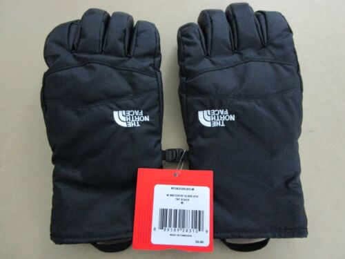 Womens XS-S-M-L North Face Waterproof Ski Snow Winter Insulated Gloves - Black