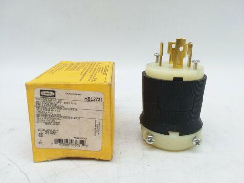 Hubbell HBL2731 Insulgrip Twist Lock Plug