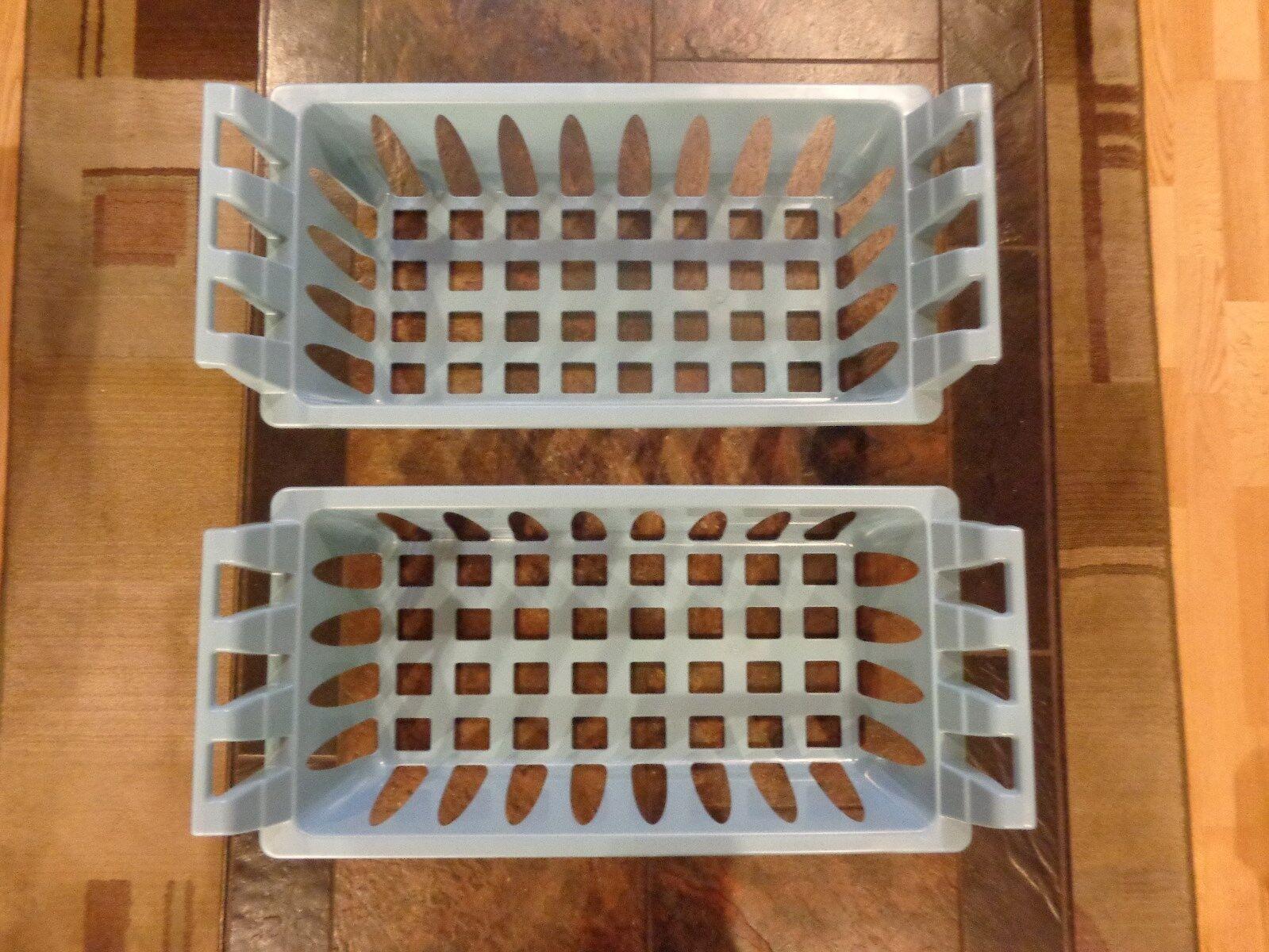 TWO  Genuine Frigidaire Freezer Upper Baskets NEW