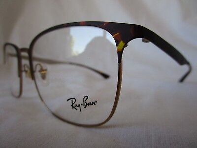 RAY BAN EYEGLASS GLASSES FRAME RX6421 3001 HAVANA PINK GOLD 54 MM NEW AUTHENTIC