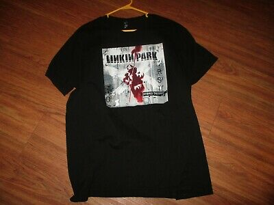 LINKIN PARK HYBRID THEORY CONCERT TOUR SHIRT ORIGINAL ADULT XL