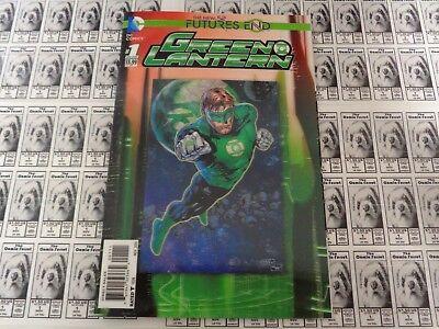 Green Lantern Future's End (2014) DC - #1, 3D Lenticular CVR, Venditti, NM