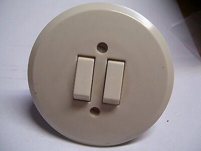 Jung Bakelite Toggle Switch Flush White 10A 250V Switch Series Switch