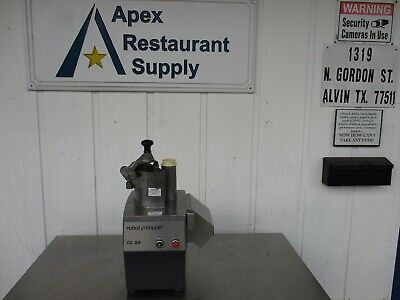 Robot Coupe Cl50 Food Processor. Tested Comes With Plate 5169