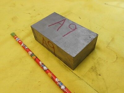 A-9 Tool Steel Bar Stock Machine Die Shop Flat Plate A9 1 38 X 2 14 X 4 Oal