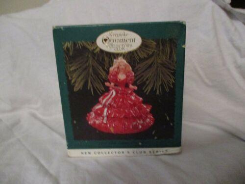 Hallmark Keepsake Ornament 1996 Club Edition 1988 Happy Holiday Barbie - NIB