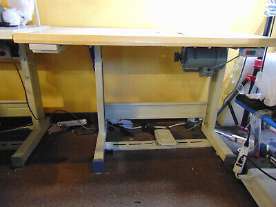 Table With Motor For 377 And Similar Button Sewing Machine Last One