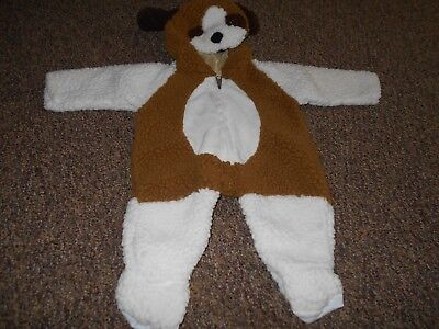 Sears Brand Vintage One Piece Hooded Dog Halloween Costume Infant 6-12 - Sears Halloween Costumes
