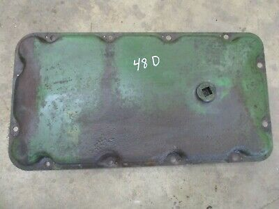 1948 John Deere Styled D Top Transmission Cover Panel  Antique Tractor