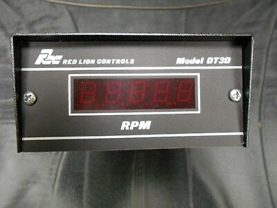 Red Lion Controls 5 Digit Tachometer