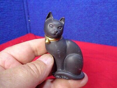 ~*~ESTATE FIND~*~  MINIATURE CAT FIGURINE. #14