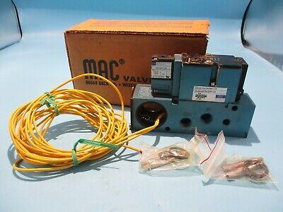 Mac Valves Inc 111B-111AA Solenoid Valve 110//120V 50//60Hz 24VDC