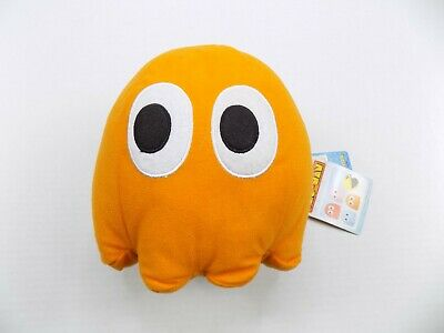 Walking Clyde Namco Pac Man Orange Ghost Plush Working New With Tag RARE