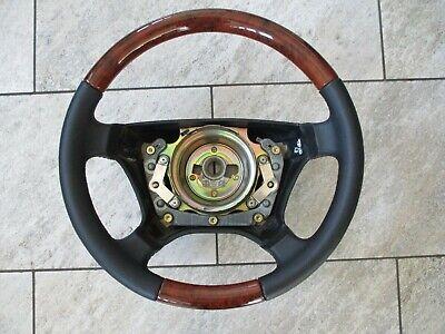 Mercedes Lenkrad w202 w210  w124 3.te Serie Wurzeloptik w463 w140 segunda mano  Embacar hacia Spain