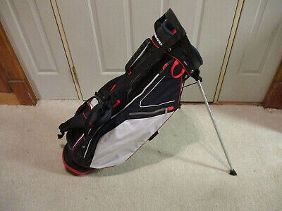 Sun Mountain Front 9 Stand Golf Bag Navy / White / Red Used