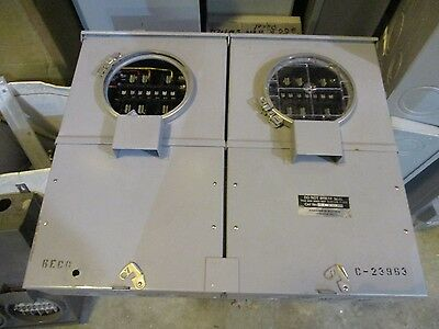 Anchor 2 Position Instrument Transformer Rated Meter Socket W Test Switch
