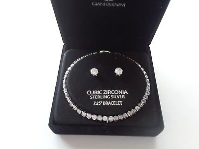 Giani Bernini Bracelet $125 Sterling Silver New Over Stock With Tags In Gift Box