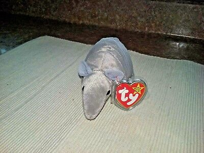 "Used, TY BEANIE BABY 1995 ""TANK"" THE ARMADILLO - 9 LINE VERSION  (MINT WITH MINT TAGS) for sale  Bradford"