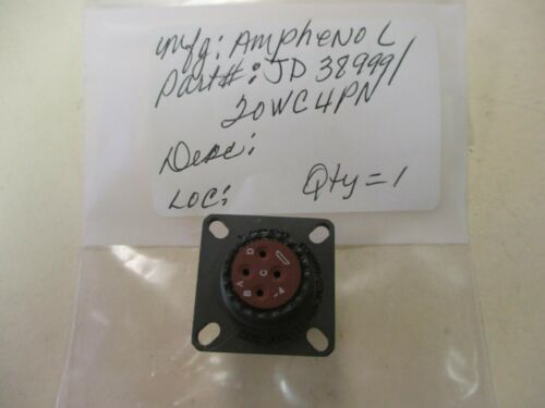 Amphenol JD38999/20WC4PN New Connector