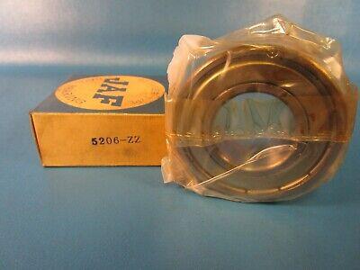 Jaf 5206zz Double Row Angular Contact Bearing 30 Mm Bore 62 Mm Od Ntn Nachi