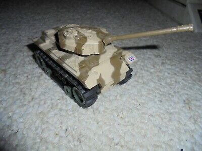 SCHAPER STOMPERS MOBILE FORCE CENTURIAN BRITISH TANK~RUNNING~ROUGH RIDERS~RARE!!