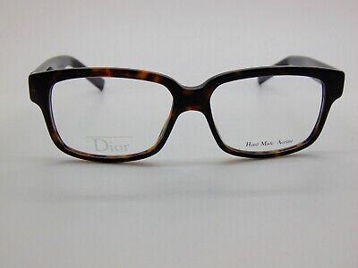 Christian Dior Homme CD BLACKTIE 150 AM6 Dark Havana/Black 52mm Mens Eyeglasses