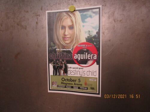 CHRISTINA AGUILERA w/ DESTINY