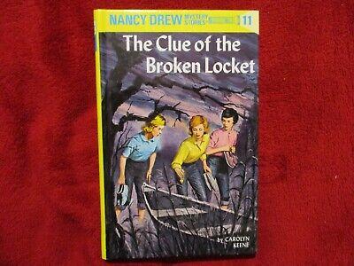 Nancy Drew Mystery Stories Vol 11 The Clue of the Broken Locket Carolyn