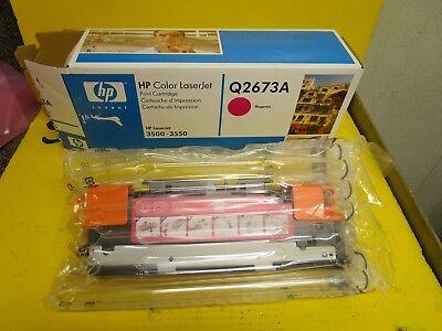 New Hp Color Laserjet Print Cartridge Q2670a 3500 3550 Magenta