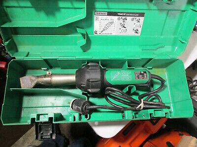 Leister Triac St Hand Held Plastic Hot Air Welder Heat Gun W Case