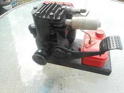 Vintage Briggs Stratton Model Wm Kickstart Kick Start Motor Gas Engine