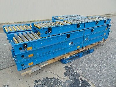 51 Hytrol Driven Belt Conveyor - Gravity Roller Conveyor