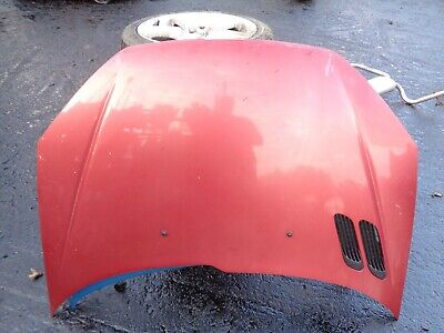 PEUGEOT 206 1999 COMPLETE BONNET BODY PANEL AIR VENT IN RED