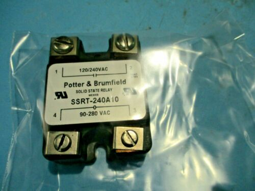 NEW POTTER BRUMFIELD SSRT-240A10 SOLID STATE RELAY