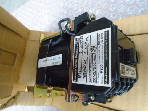 Cutler Hammer BFD40S BFD Control Relay BFD08S