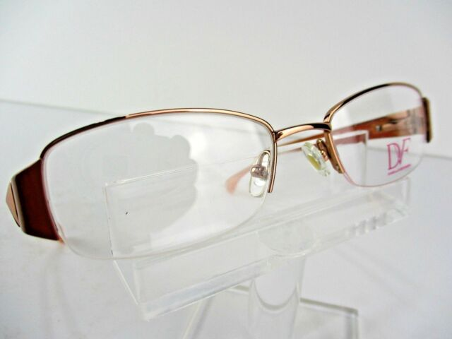 DVF 8026 (617) Blush 50x18 135mm Eyeglass Frames | eBay