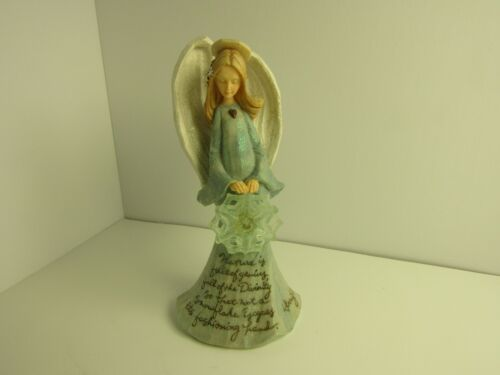 Angel figurine signed Henry David Thoreau