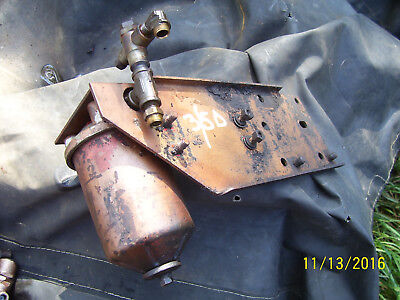 Original Massey Harris 555 Diesel Tractor -fuel Filter Bracket - 1957