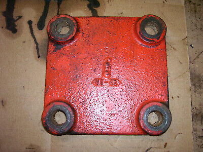 VINTAGE JI CASE  311 GAS TRACTOR -TRANS SIDE COVER- 1956