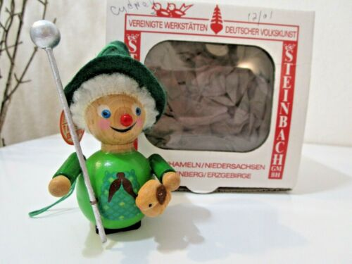 "Steinbach Wooden Christmas ""SHEEPHERDER"" Ornament  W/ TAG & BOX ~ EUC (Lot 3)"