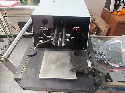 Unitek Miyachi Catalog No Mp3 Puill Tester. Model No 6-095-06 W Foot Ped