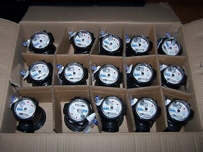 Lot Of Fifteen 15 Master Meter Fam-34 Polymer Cold Water Meters