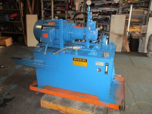 Continental Hydraulic 25HP 12 GPM 3000 PSI Hydraulic Power Unit  PVX11B30RF-P