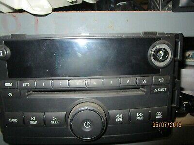 Pontiac G5 & Chevy Cobalt 2007-2008 AM FM CD Aux Input Radio