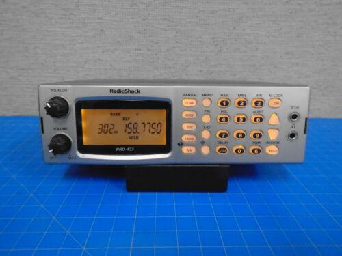 RADIO SHACK PRO-433 1000 ch SCANNER